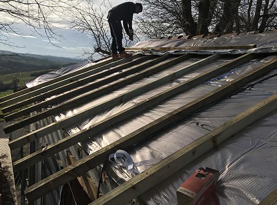 Isolation de la toiture (ITE & ITI)